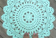 Crochet carpet