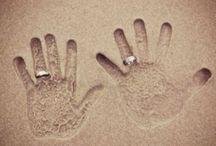 Ideeën bruidsfoto's op het strand