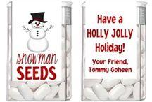 secret santa snowman theme