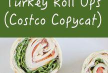 Turkey rolls