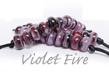Lampwork - frit / Mostly Val Cox lusciousness