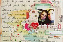 Scrapbooking inspiration Feb/Mar 2014