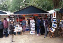 Westend Art, Craft & Design Fair at the Edinburgh Festival, Scotland 2014