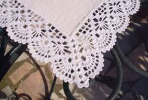 Bicos em crochet