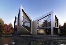 оригами в архитектуре