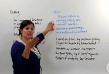 English Writing Video Lessons / Brightstorm English Writing includes 25 in-depth video lessons by a Stanford-educate English teacher. Our videos explain all important topics such as parts of an essay, types of essays. Enjoy these free videos and become a member to watch all 5,300 videos in math, science, English and ACT prep.