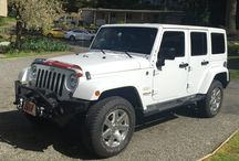 Our Dinghy - 2015 Jeep Wrangler Unlimited Sahara / 2015 Jeep Wrangler Sahara Unlimited