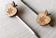 cabin + cub hair pins