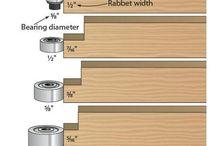 Router bearings