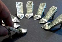Geldgeschenke / Geldscheine falten