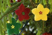 Crochet Xmas / Stars, bells, angels, etc...