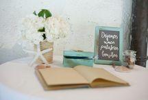 mesa de firmas + photocall
