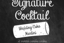 Signature Drink & Cocktail idea's / Signature Drink & Cocktail idea's / by Lakeside Weddings