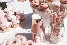 Rose Gold Bridal Party