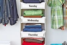 Clothes organized