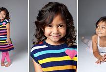 Kids Modeling Portfolio / This is some direction for how children's modeling portfolios should look.