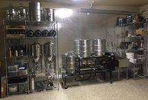 garage home brewery