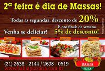 PROMOÇÕES NOVAS na Bahia Pizzaria! / Faça seu pedido através do nosso número: 2638-2144. Endereço: Avenida 1, Lote 09, Quadra 10, Barroco Itaipuaçu - Maricá - RJ Próximo ao DPO   http://bahiapizzaria.com.br/cardapio-petiscos-pizzaria-pizza-itaipuacu-marica.html