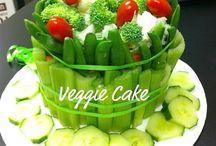 zeleninový dort