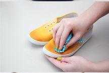 Zapatos creativos