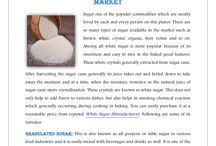 Types of White Sugar Available In The Market
