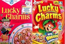 Cereal Boxes / The strategies of color, marketing and packaging