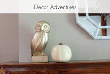 Decor Adventures Fall Projects / Ideas, projects and inspiration for all things fall from DecorAdventures.com / by Decor Adventures | Home Decor + DIY Inspiration