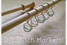 DIY Stitch Markers / by Rachel Frank