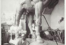Antoine Bourdelle / Sculpturen