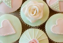 꽃모양 컵케익