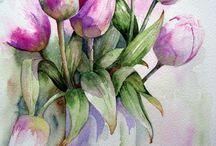 Art: Yvonne Harry, watercolorist