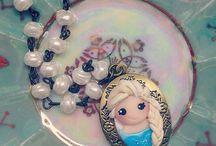 Polymerclay/Jewelry/Cold porcelain/Biscuit/Fimo/Porcelana fría/Porcelaine froide/Pasta flexible/Fondant/Pasta francesa.