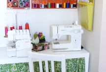 Sewing Room Ideas / Ideas and possibilities for a future sewing space/room