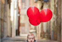 2 Urodziny czerwone balony