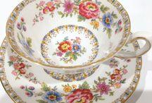 Porcelanas / Beleza na decoração e na hora de servir.