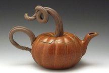 Clay-Tea Pots / by Molly O'Brien-Prusa