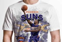 Phoenix Suns / Officially licensed NBA player graphic apparel for all of the Phoenix Suns top players.