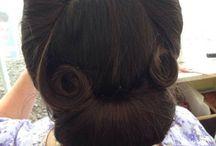 1940's 1950's Hair