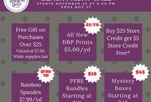 Sales, Specials, & Giveaways