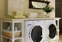 the laundry room  / laundry room decorating & products  / by Layne Quintanilla ~ Mama Q Blogs It