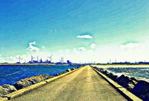 IJmuiden / the beauty and ugliness of the IJmuiden area.... / by Dennis