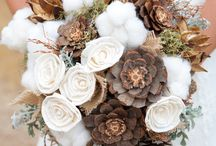 Rustic wedding flowers / Rustic, woodland, natural themed wedding flowers and bouquets