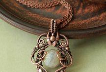 jóias com arame