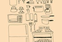 Illustrations about food
