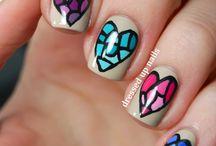 Snazzy nail art.. / by Brandi Barry
