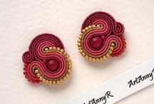 soutache earring