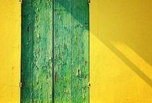 Irma Cipolletta Triangle Piccola Yellow/Green - Architectural Inspirations