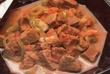 Recepty - maso - guláše, omáčky