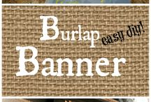 Burlap / Love it and it needed its own category.