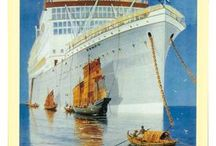Vintage Posters Ships